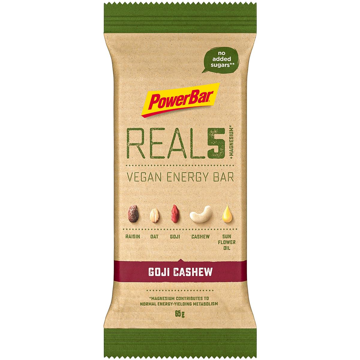 PowerBar REAL5 tyčinka 65g